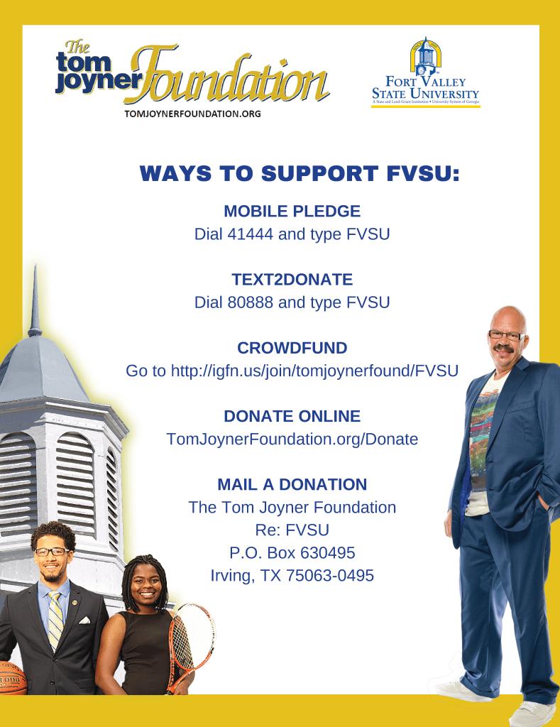 Tom Joyner Scholarship Foundation flyer