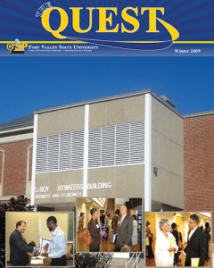 The Quest Magazine cover Winter 2009