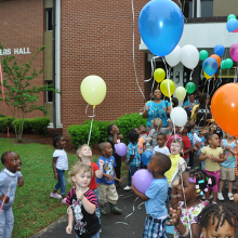 FVSU celebrates the national Week of the Young Child