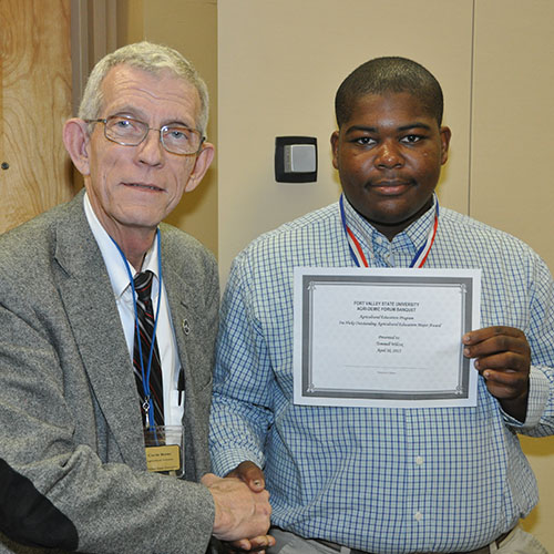 Students honored for academic achievements at annual Agri-Demic Forum