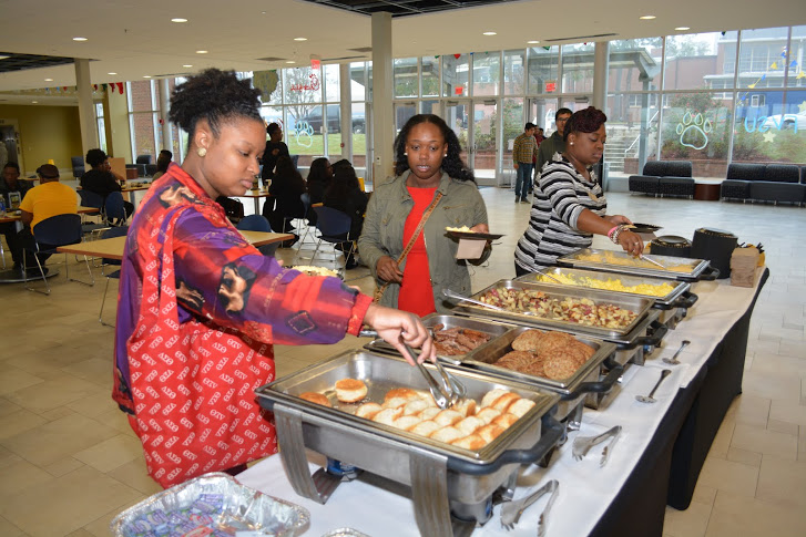 Students at the 120th Anniversary Student Breakfast