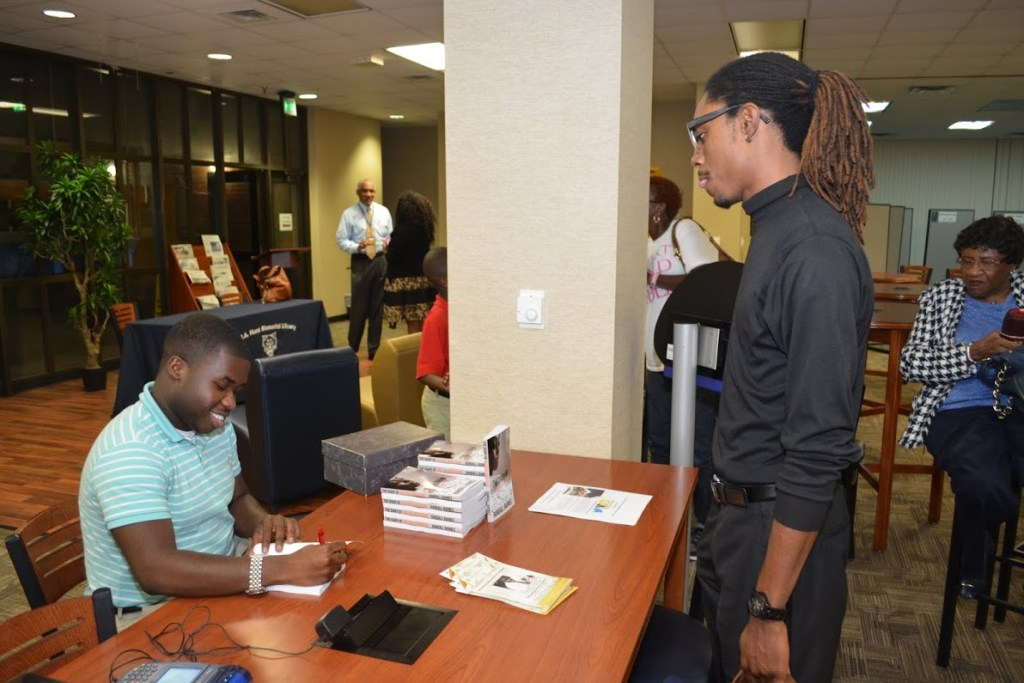 The Randall Barnes Book signing.