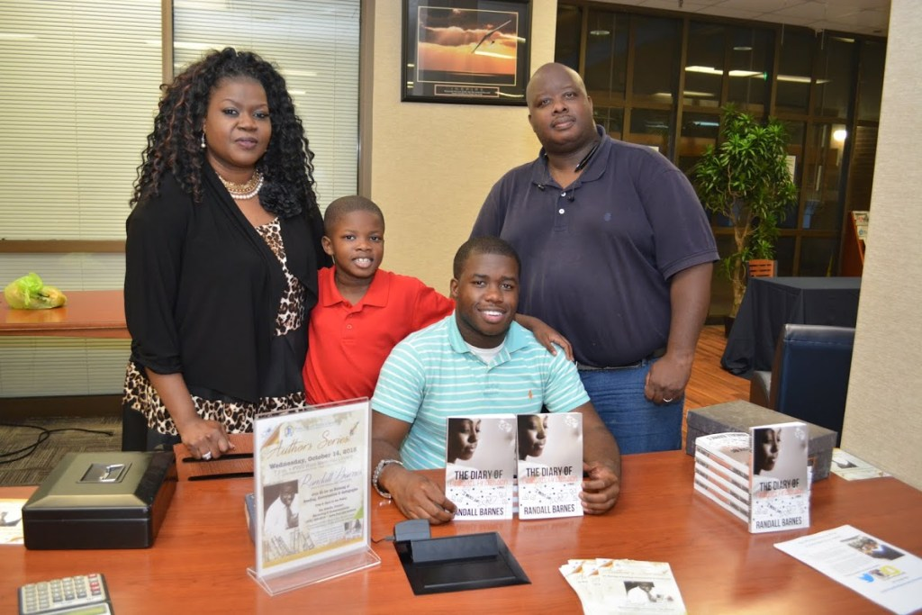 Family members at the Randall Barnes Book signing.