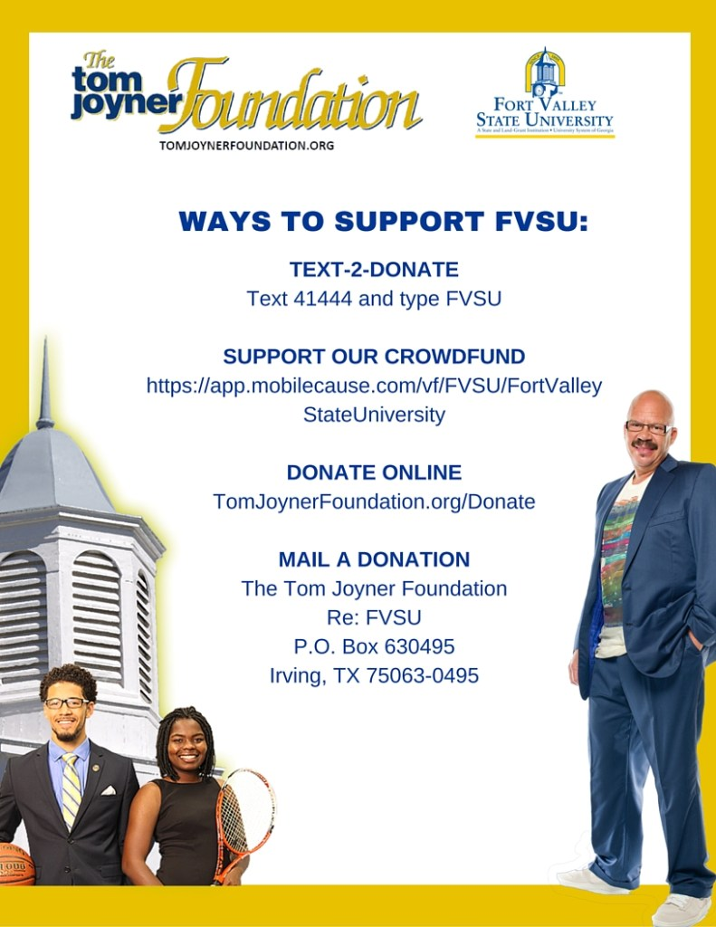 TJF Flyer on ways to donate
