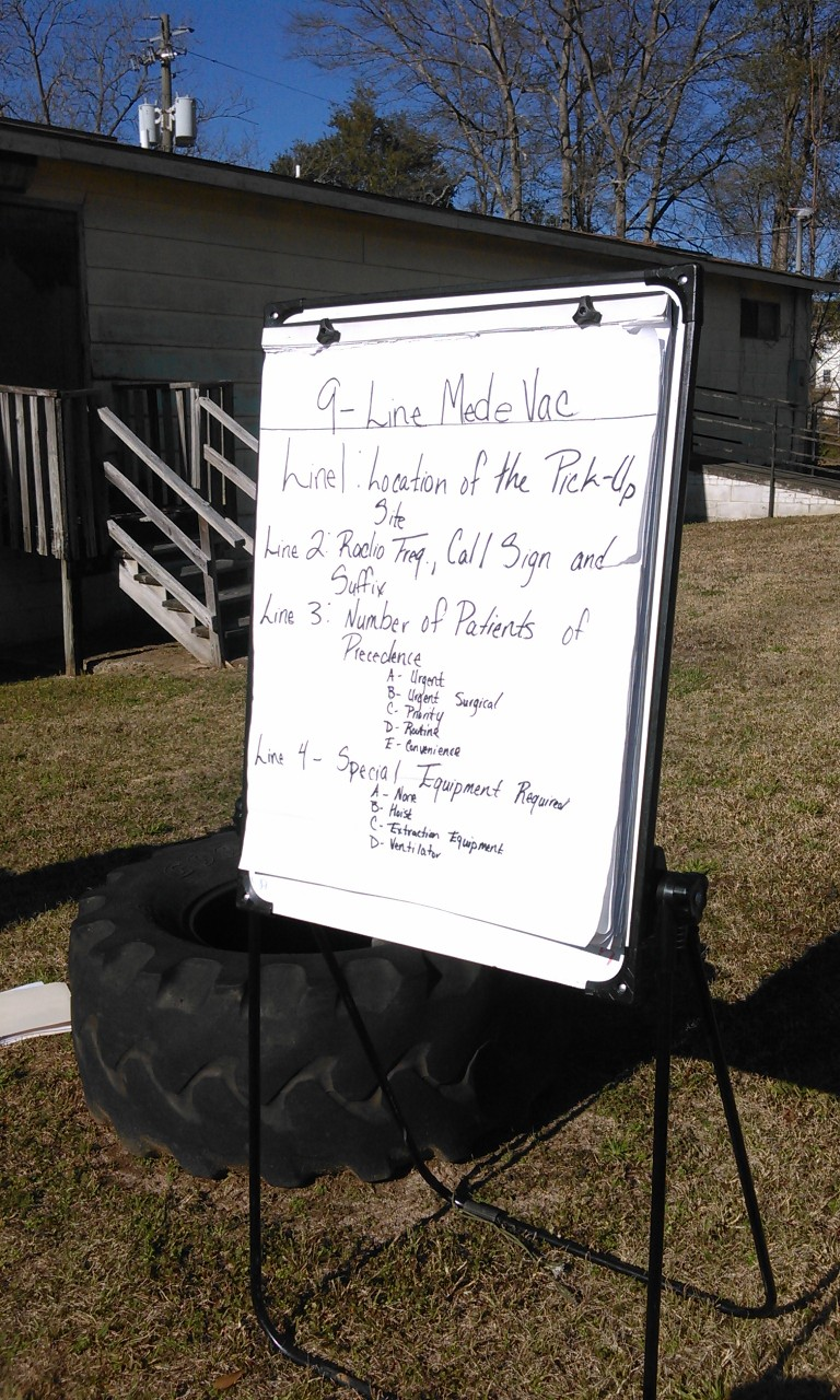 The 9-Line MedeVac as part of the ARMY ROTC Curriculum - Fort Valley