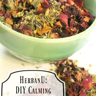 HerbanU DIY Calming Herbal Bath