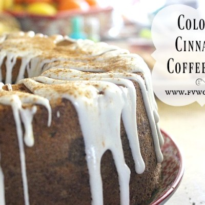 Colossal Cinnamon Coffee Cake