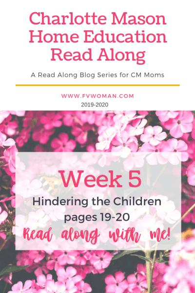 hindering the children
