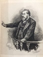 C.H. Spurgeon etching
