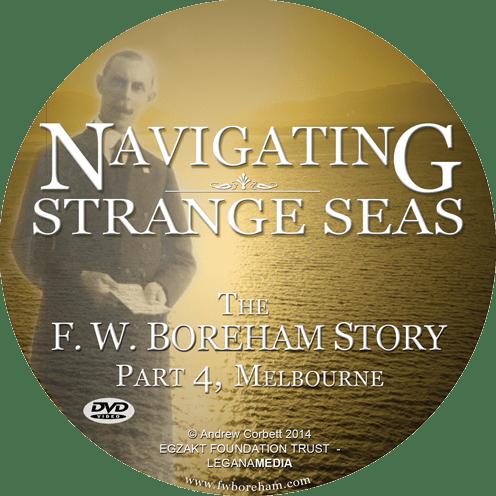 Navigating Strange Seas, Episode 4, Melbourne - Documentary DVD Disc