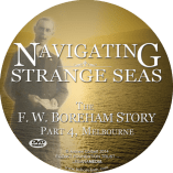 Navigating Strange Seas, Episode 4, Melbourne - Documentary DVD Disc