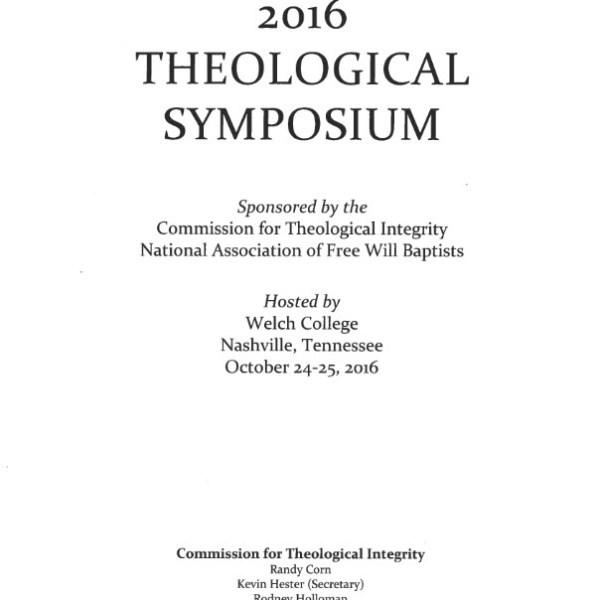 2016 symposium papers