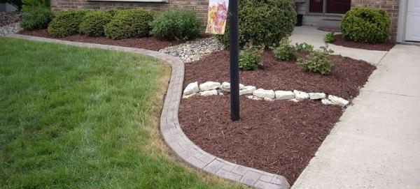 fort wayne decorative curbing