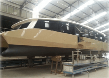 100% Electric Catamaran – Case History
