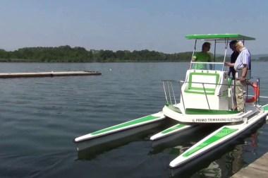 Trimarano Green: soluzione full electric per le imbarcazioni a motore nel canottaggio