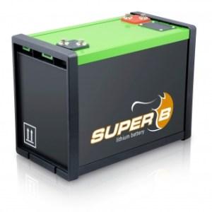 Super B Lithium batteries SB12V160E-ZC