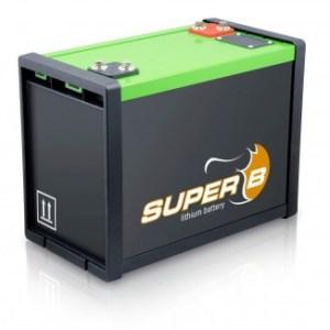 Super B Lithium batteries SB12V100E-ZC