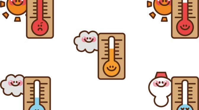 大阪の気温…