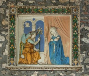 Relief of The Anunciation