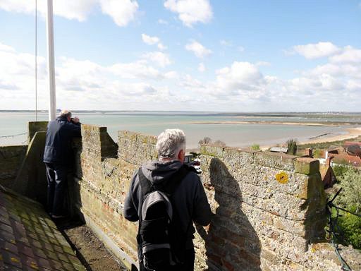 Tower Views - picture courtesy of West Mersea Parish Church Newsletter