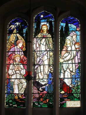 Chancel East Window – Completed August 2013