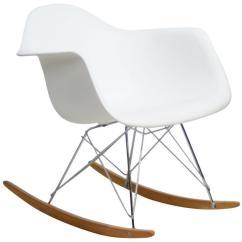 Ikea White Rocking Chair Steel Covers Rocker Fwr Rental Haus