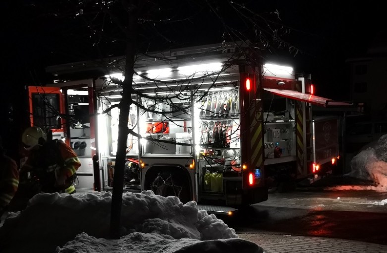 Brand in Seewis – Fehlalarm