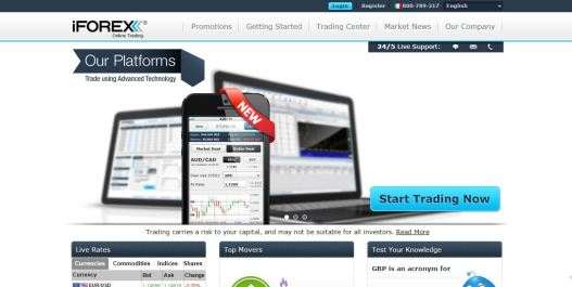 iforex official website main page