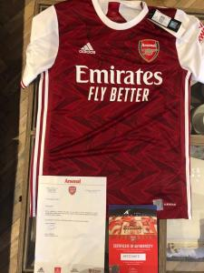 Signed Arsenal Jersey