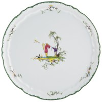 Raynaud Longjiang Round Flat Cake Plate