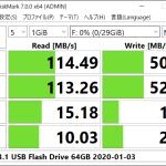 [ICT] TEAM 32GB (USB3.1 Flash Drive) ベンチマーク