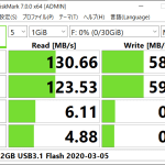 [ICT] Lexar USB3.1 32GB Flash LJDTD32GABEUベンチマーク結果