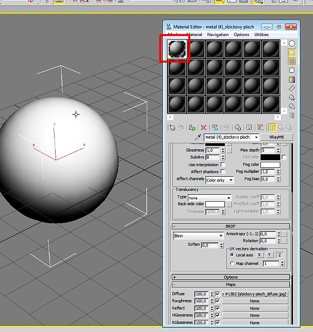 How to convert 3d Studio Max V-ray materials to Maya V-ray materials