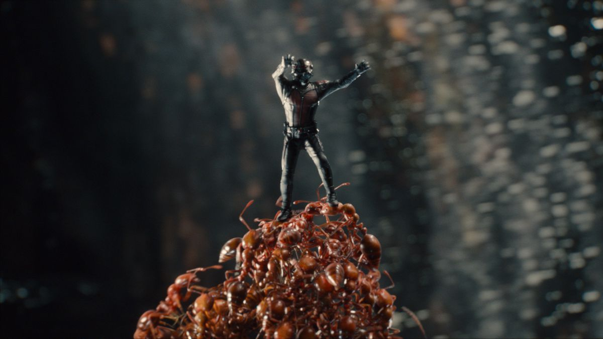 Falling Into Water Wallpaper Ant Man Marvel S Heist Film Fxguide