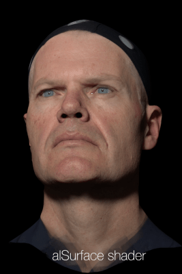 AlSurface Shader Wikihuman Project Fxguide