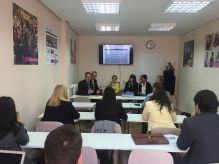 A seminar at Madrid (ASUFIN) with italian, polish and spanish associations