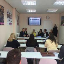 A seminar at Madrid (ASUFIN) with italian, polish and spanish associations
