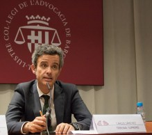 Carlos Sánchez Martín, lawyer of the technical cabinet of the Supreme Court