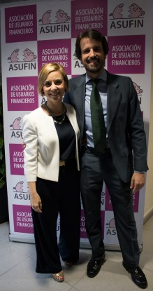 Vanesa Fernández and Víctor Ceballos, ASUFIN collaborating lawyers