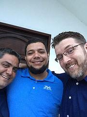 Rene, Martin and me.