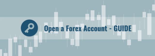 Open forex account