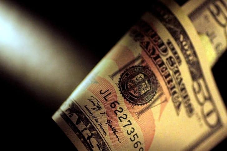 Dollar Down Over Rise in COVID