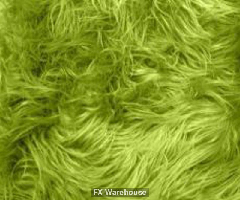 Grinch Green Fake Fur Limit 2 To A Customer