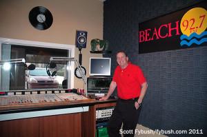 The WBHQ studio