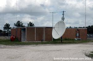 WOKV's night transmitter building