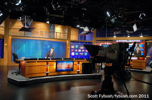 The WKMG-TV studio