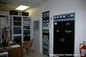 WPOZ's transmitters