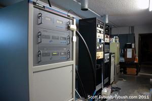 WEAG's transmitter room