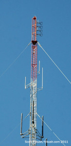The WYKS antenna