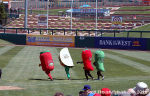 Hot pepper race!